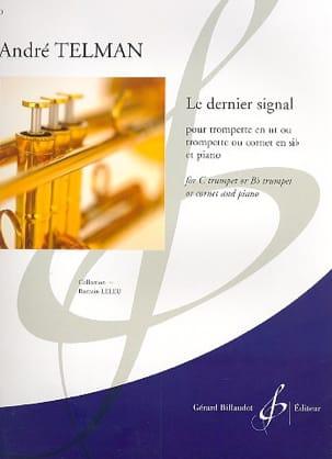 Le Dernier Signal André Telman Partition Trompette - laflutedepan
