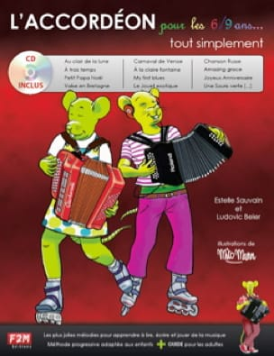 Estelle Sauvain & Ludovic Beier - The Accordion for 6/9 years ... simply - Sheet Music - di-arezzo.co.uk