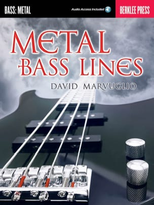 Metal Bass Lines - David Marvuglio - Partition - laflutedepan.com
