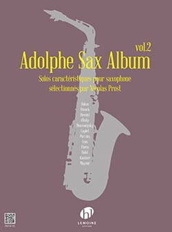 - Adolphe Sax Album - Volume 2 - Partition - di-arezzo.fr