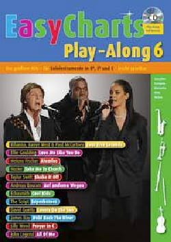 - Easy charts play-along volume 6 - Sheet Music - di-arezzo.co.uk