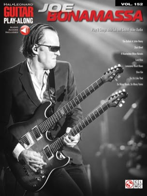 Joe Bonamassa - Guitar Play-Along Volume 152 Joe Bonamassa - Sheet Music - di-arezzo.co.uk