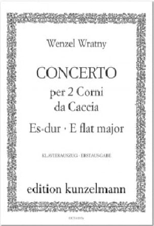 Wenzel Wratny - Concerto for 2 Corni de Caccia - Sheet Music - di-arezzo.com
