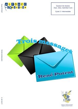 René Potrat - Tres mensajes - Partitura - di-arezzo.es