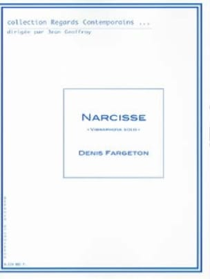 Denis Fargeton - Narcisse - Partition - di-arezzo.fr