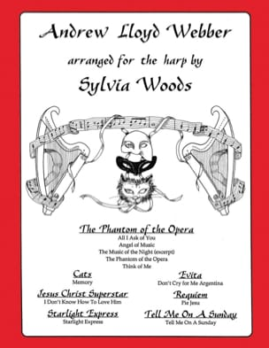 Andrew Lloyd Webber Andrew Lloyd Webber Partition Harpe - laflutedepan
