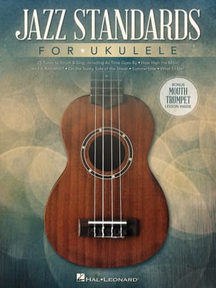 Jazz Standards for Ukulele Partition Jazz - laflutedepan