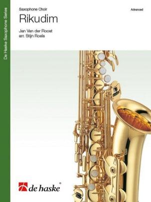 Rikudim Jan van der Roost Partition Saxophone - laflutedepan