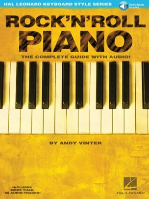 Andy Vinter - Rock'N'Roll Piano - Partition - di-arezzo.fr