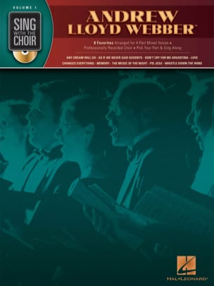 Andrew Lloyd Webber - Sing With The Choir Volume 1 - Andrew Lloyd Webber - Partition - di-arezzo.co.uk