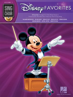 Sing With The Choir Volume 7 - Disney Favorites DISNEY laflutedepan
