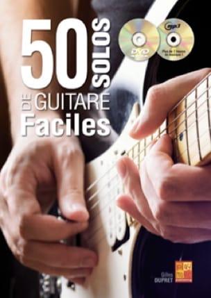 50 solos de guitare faciles Gilles Dupret Partition laflutedepan