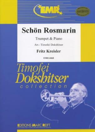Schön Rosmarin - Fritz Kreisler - Partition - laflutedepan.com