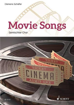 - Movie Songs - Pour choeur - Partition - di-arezzo.fr
