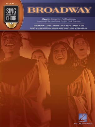 - Sing With The Choir Volume 2 - Broadway - Partition - di-arezzo.fr