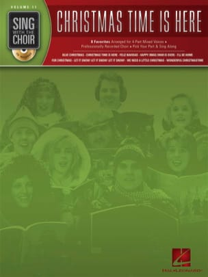Sing With the Choir Volume 11 - Christmas Time Is Here - laflutedepan.com