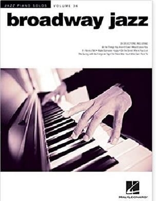 - Jazz Piano Solos Series Volume 36 - Broadway Jazz - Partition - di-arezzo.fr