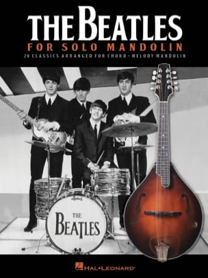 BEATLES - The Beatles for Solo Mandolin - Partition - di-arezzo.fr