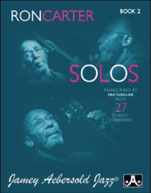 METHODE AEBERSOLD - Ron Carter Solos - Volume 2 - Partition - di-arezzo.fr