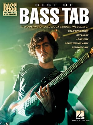 Best of Bass Tab Partition Pop / Rock - laflutedepan
