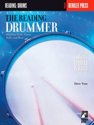 The Reading Drummer Dave Vose Partition Batterie - laflutedepan