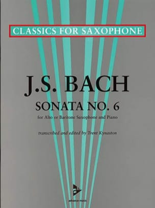 Johann Sebastian Bach - Sonata No. 6 A major - Partition - di-arezzo.fr