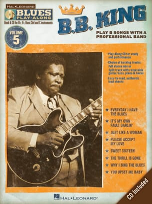 king B.B. - Blues Play-Along Volume 5 - B.B. King - Partition - di-arezzo.fr