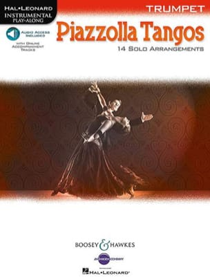 Piazzolla Tangos Astor Piazzolla Partition Trompette - laflutedepan