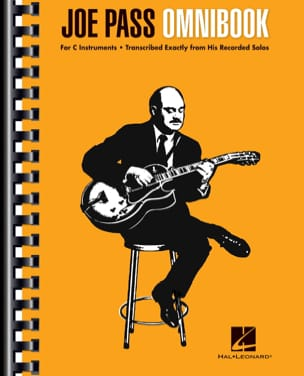 Joe Pass Omnibook Joe Pass Partition Jazz - laflutedepan