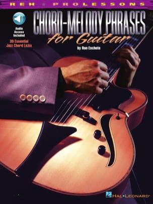 Chord-Melody Phrases For Guitar - Ron Eschete - laflutedepan.com