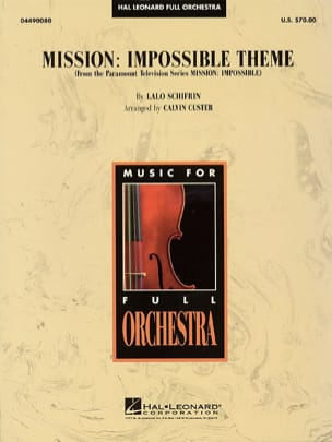 Mission Impossible Theme Lalo Schifrin Partition laflutedepan