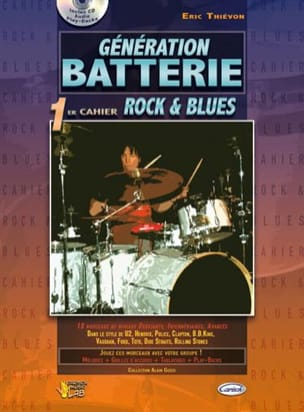 Eric Thiévon - Generation Battery, 1st Notebook Rock - Blues - Partitura - di-arezzo.es