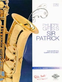 Philippe Geiss - Sir Patrick - Sheet Music - di-arezzo.com