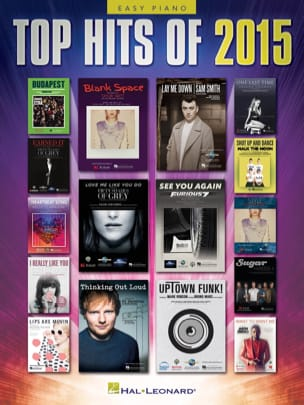 - Top Hits of 2015 - Version Piano Facile - Partition - di-arezzo.fr