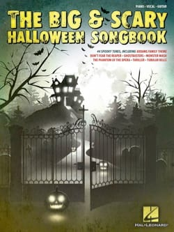 The Big & Scary Halloween Songbook - Partition - di-arezzo.fr