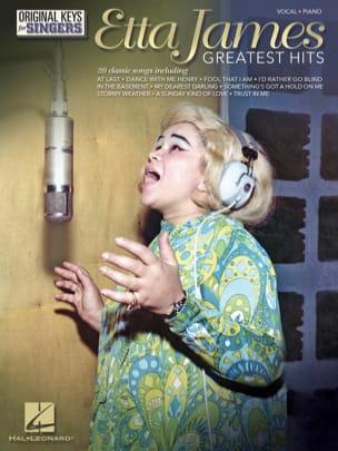 Etta James - Original Keys for Singers - Greatest Hits - Sheet Music - di-arezzo.com