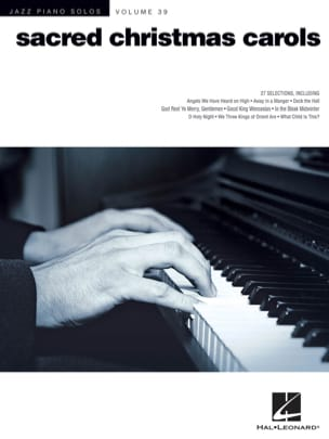 - Jazz Piano Solos Series Volume 39 - Sacred Christmas Carols - Partition - di-arezzo.fr