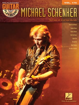 Guitar Play-Along Volume 175 - Michael Schenker - laflutedepan.com