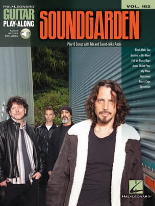 Soundgarden - Guitar Play-Along Volume 182 Soundgarden - Sheet Music - di-arezzo.co.uk