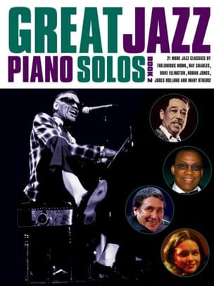 - Great Jazz Piano Solos - Book 2 - Partition - di-arezzo.fr