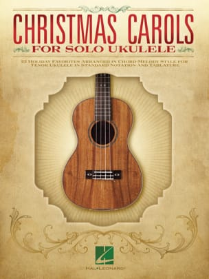 Noël - Christmas Carols for Solo Ukulele - Partition - di-arezzo.fr