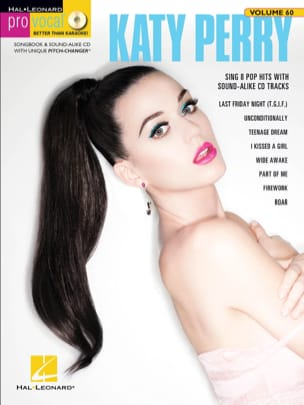 Pro Vocal Women's Edition Volume 60 - Katy Perry - laflutedepan.com