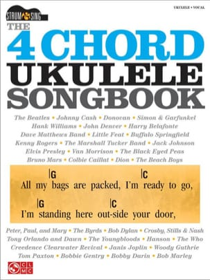 - The 4-Chord Ukulele Songbook - Partition - di-arezzo.fr