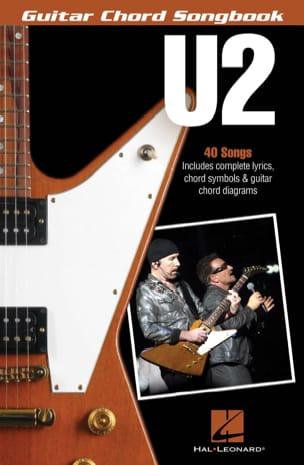 U2 - U2 - Guitar Chord Songbook - Partition - di-arezzo.fr