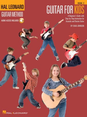 Hal Leonard Guitar Method - Guitar For Kids Volume 2 laflutedepan