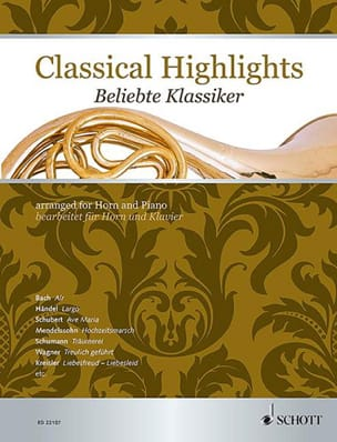 Classical Highlights - Partition - Cor - laflutedepan.com