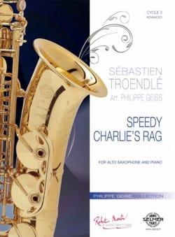 Sébastien Troendlé - Speedy Charlie's Rag - Partition - di-arezzo.fr