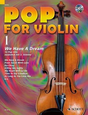 - Pop for Violin Volume 1 - Partition - di-arezzo.fr