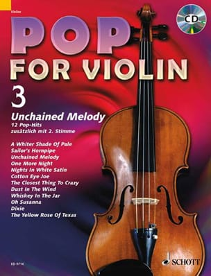 - Pop for Violin Volume 3 - Unchained Melody - Partition - di-arezzo.fr