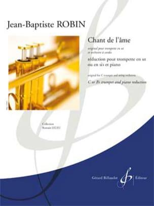 Chant de l'âme - Jean-Baptiste Robin - Partition - laflutedepan.com